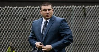 New York police officer Daniel Pantaleo