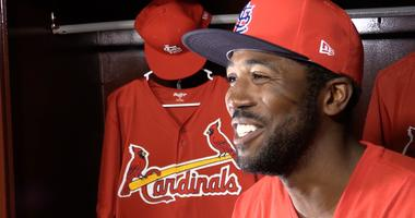 Dexter Fowler is interviewed for an Ameren Illinois Inside Pitch episode.