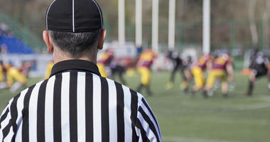 Football referee.