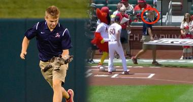 Cardinals grounds crew member Lucas Hackmann