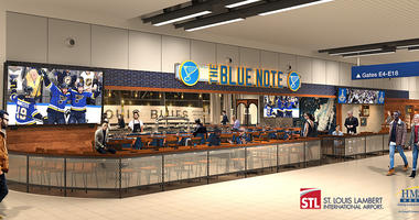 A new Blues-themed restaurant could be coming to Lambert Airport