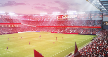 MLS Stadium in St. Louis