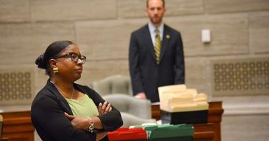 Freshman senator, Karla May, D-St. Louis