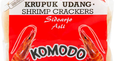 krupuk udang komodo shrimp chips comfort food family favorite