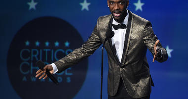 Jay Pharoah at the 23rd Annual Critics' Choice Movie Awards