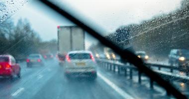 rain while driving