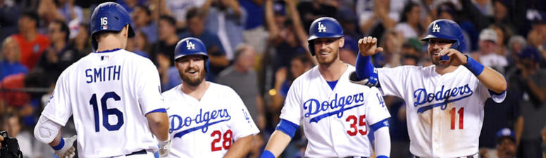 Smith's slam, Kershaw's K's lead Dodgers past Padres, 8-2