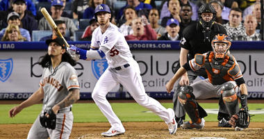 Dodgers rout Giants 9-2 for 50th win; Rich Hill headed to IL