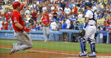 Calhoun sends Angels to 3-2 win, 1st series sweep of Dodgers