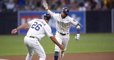 Tatis Jr. hits leadoff homer, Padres beat Rockies 9-3