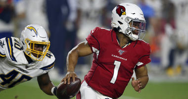 Kyler Murray sharp in brief debut as Cards edge Chargers