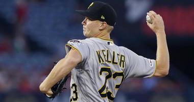 Keller wins as Pirates snap 8-game skid, beat Angels 10-2