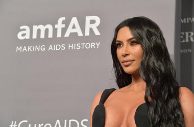 im Kardashian West attends the amfAR New York Gala 2019 at Cipriani Wall Street on February 6, 2019 in New York City.