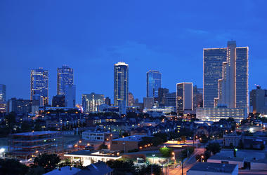 Skyline of Fort Worth, Texas