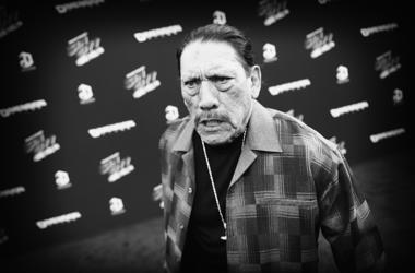 "Image processed using digital filters) Actor Danny Trejo attends the premiere of ""Sin City: A Dame To Kill For"" at TCL Chinese Theatre on August 19, 2014 in Hollywood, California."