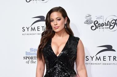 Sports Illustrated Swimsuit Cover Model Ashley Graham attends the Sports Illustrated Sportsperson of the Year Ceremony 2016 at Barclays Center of Brooklyn on December 12, 2016 in New York City.