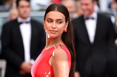 """Model Irina Shayk attends the screening of """"Sorry Angel (Plaire, Aimer Et Courir Vite)"""" during the 71st annual Cannes Film Festival at Palais des Festivals on May 10, 2018 in Cannes, France."""