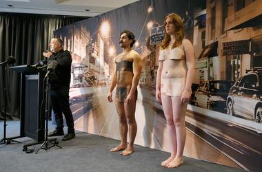 Spencer Tunick discusses plans for his upcoming nude installation on July 5, 2018 in Melbourne, Australia. Tunick will create one of his famous nude installations on Monday 9 July as part of Chapel Street's PROVOCARE Festival of the Arts 2018 (Photo by Da