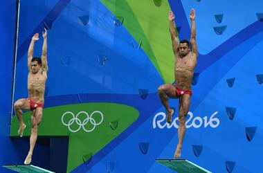 Olympics: Diving-Men's 3m Springboard Synchro-Final