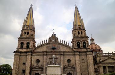 Catedral, Guadalajara, Jalisco. Basílica de la Asunción de María Santísima