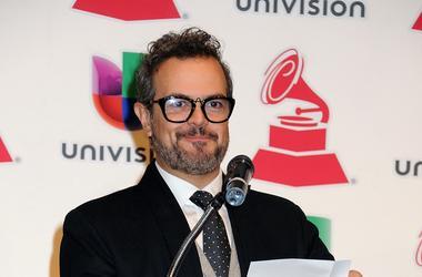 25 September 2013 - Hollywood, California - Aleks Syntek. 14th Annual Latin GRAMMY Awards Nominations held at Avalon Hollywood. Photo Credit: Byron Purvis/AdMedia/Sipa USA
