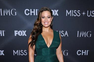 LAS VEGAS, NV - May 14: Ashley Graham at the 2017 Miss USA Pageant at the Mandalay Bay Events Center on May 14, 2017 in Las Vegas, Nevada.