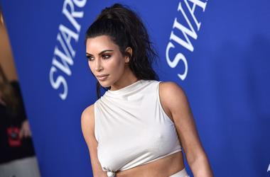 Kim Kardashian attends the 2018 CFDA Awards at the Brooklyn Museum in New York, NY, on June 4, 2018.