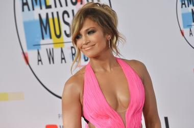 Jennifer Lopez, JLO at the 2018 American Music Awards held at Microsoft Theater on October 09, 2018 in Los Angeles, CA, USA