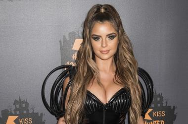 Demi Rose Mawby arrives at the Kiss Haunted House Party at the SSE Wembley Arena, Wembley, London. Picture date: Friday 26th October 2018. Photo credit should read: David Jensen/ EMPICS Entertainment