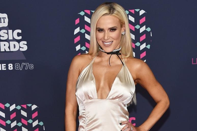 WWE Superstar Lana attends the 2016 CMT Music awards at the Bridgestone Arena on June 8, 2016 in Nashville, Tennessee.