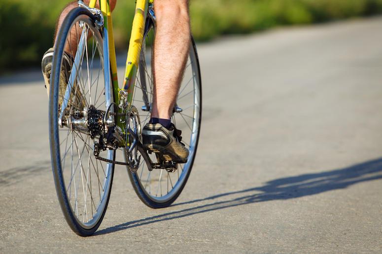 Ciclista Desnudo