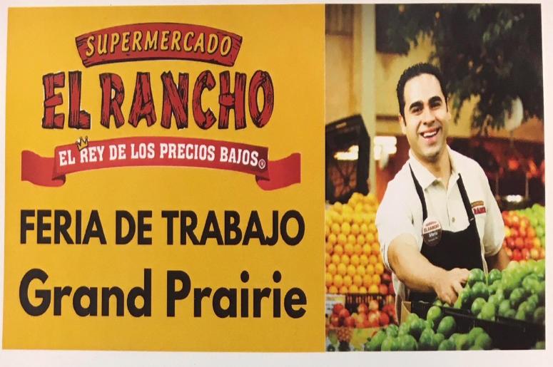 El Rancho Supermercado Feria De Trabajo La Grande 1075 Fm