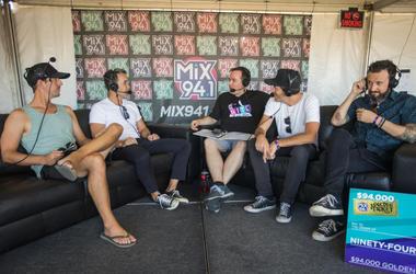 Hoobastank at Bite of Las Vegas 2018