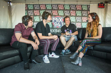Echosmith at Bite of Las Vegas 2018