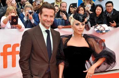 "Bradley Cooper, Lady Gaga, Stefani Germanotta. ""A Star Is Born'"" premiere during 2018 Toronto International Film Festival at Roy Thomson Hall."