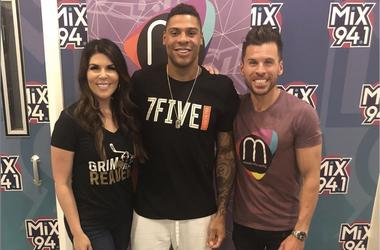 Ryan Reaves visits Mercedes in the Morning