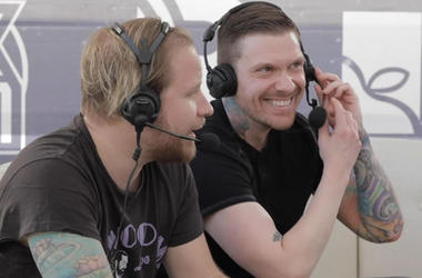 Shinedown's Zach Myers and Brent Smith