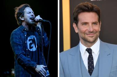 Eddie Vedder and Bradley Cooper
