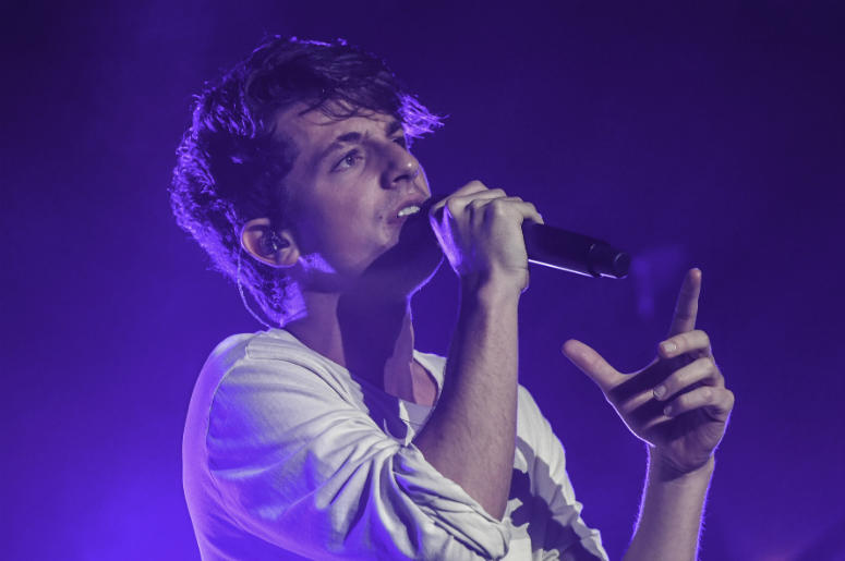 Oct 4 , 2016; Miami Beach, FL, USA; Charlie Puth performs at The Filmore.