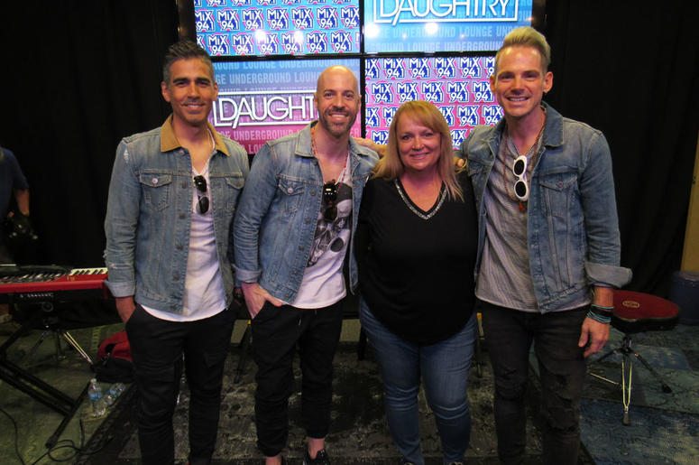 Daughtry in Underground Lounge; Oct. 9, 2018