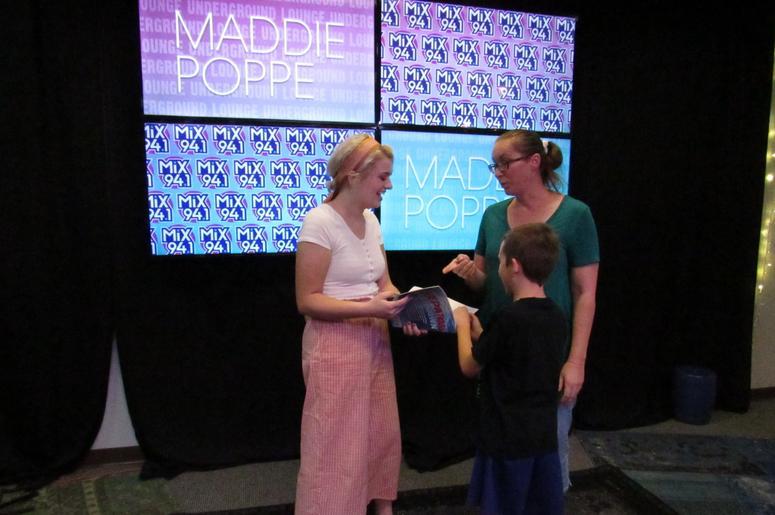 Maddie Poppe Underground 11