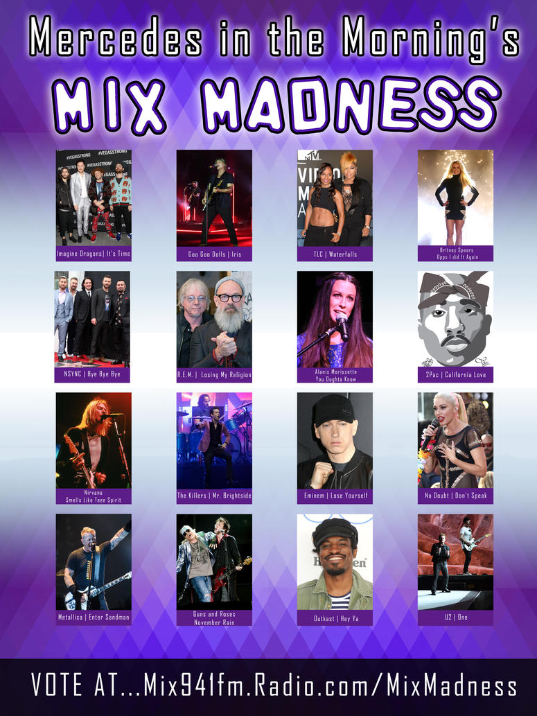 Mix Madness Poster 2019