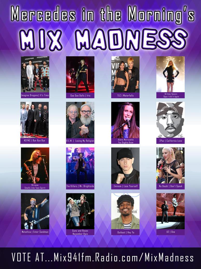 Mix Madness Poster 2019