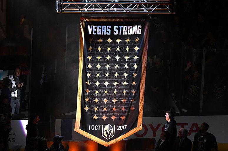 Golden Knights Memorial Banner