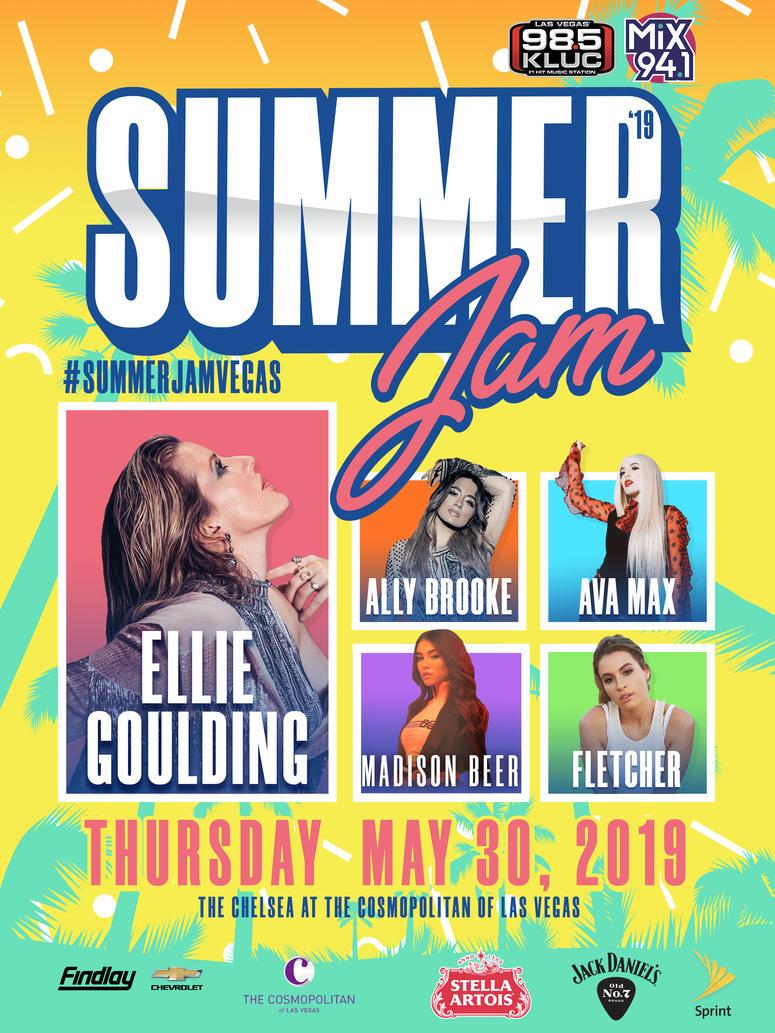 Summer Jam 2019 Poster