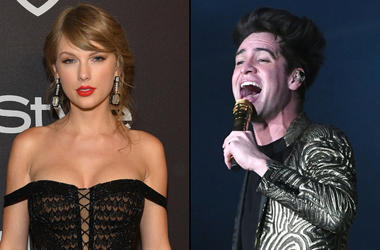 Taylor Swift and Brendon Urie