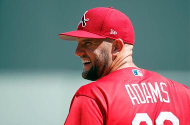 St. Louis Cardinals hitter Matt Adams