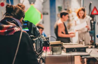 Movie Camera Set