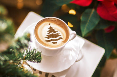 Christmas Tree Coffee