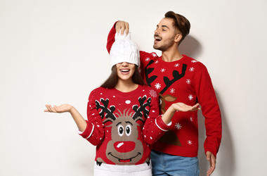 Ugly Sweater Couple